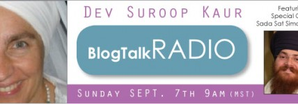 Blog Talk Radio with Sada Sat Simran Singh of Chardi Kala Jatha